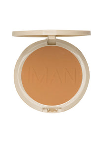 Oil-Blotting Pressed Powder, Makeup, Iman Cosmetics, Impala Inc  - IMAN Cosmetics