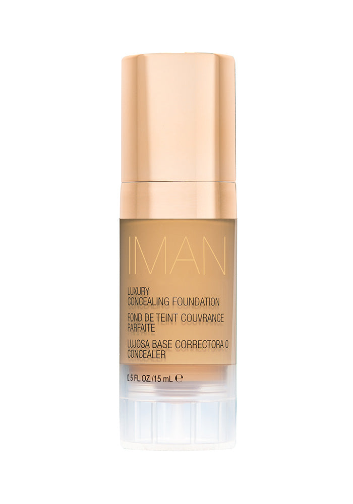 Luxury Concealing Foundation, Makeup, Iman Cosmetics, IMAN Cosmetics - IMAN Cosmetics