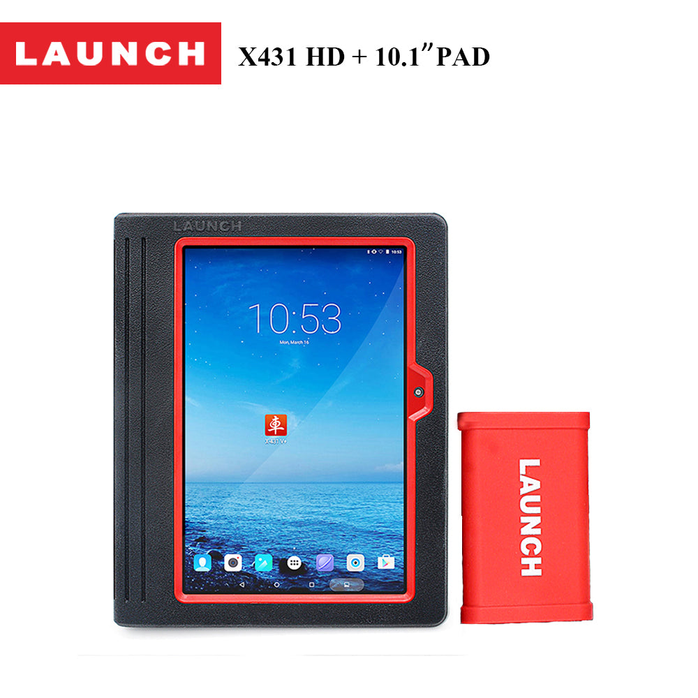 LAUNCH X431 HD Heavy Duty+Pad 10.1