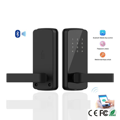 Korea Style Advanced Password Bluetooth Digital Smart Door Lock With TT lock App Remote Control for home and apartment