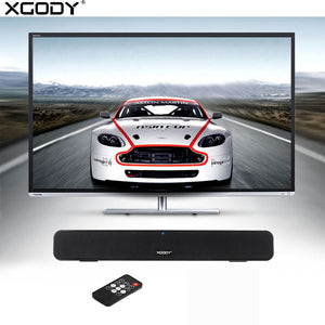 Xgody G807 TV Soundbar Home Theater Music Center Bluetooth Speaker with Subwoofer FM Radio Sound Bar Column for Computer Phone