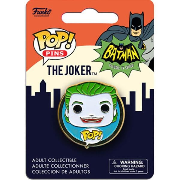 Pop! pins Batman the TV series The joker
