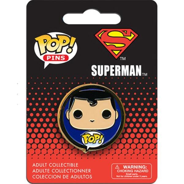 Pop! Pins DC Superman - GekkoTech