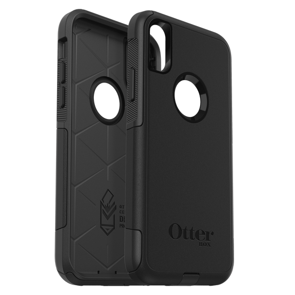 Otterbox - Commuter Protective Case Black for iPhone XS Max - GekkoTech