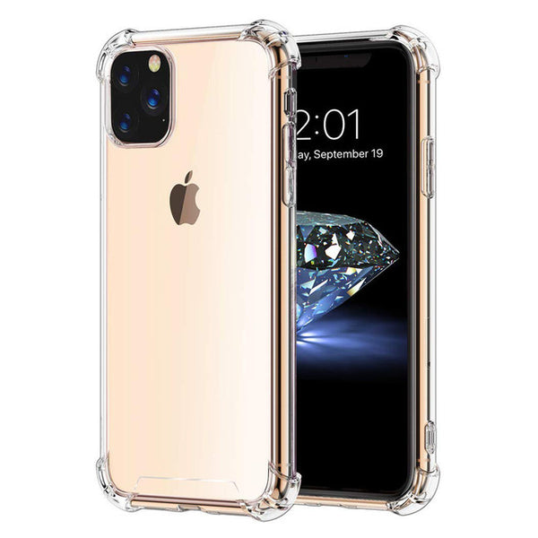 Blu Element - DropZone Rugged Case Clear for iPhone 11 Pro - GekkoTech