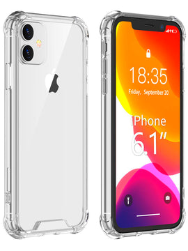 Blu Element - DropZone Rugged Case iPhone 11/XR Clear