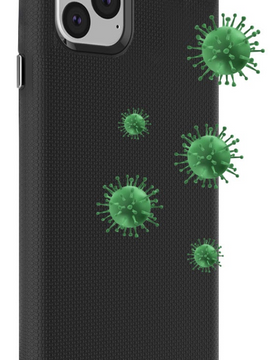 Blu Element - Antimicrobial Armour 2X iPhone 12/12 Pro Black