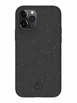Nimbus9 - Vega Biodegradable Case Granite Black for iPhone 12/12 Pro