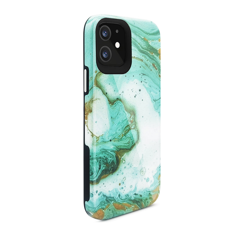 Blu Element - Mist 2X iPhone 12/12 Pro SeaFoam Green Glossy