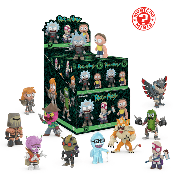 Rick And Morty Mystery Minis #2 - GekkoTech