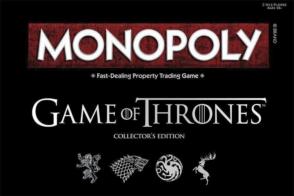 Monopoly Game of Thrones Collector's Edition - GekkoTech