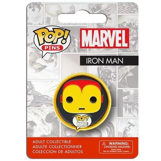 Pop! Pins Marvel Iron Man - GekkoTech