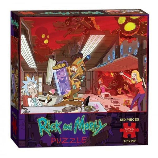 Rick and Morty Puzzle 550 Pieces