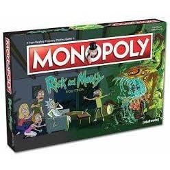 MONOPOLY RICK AND MORTY - GekkoTech