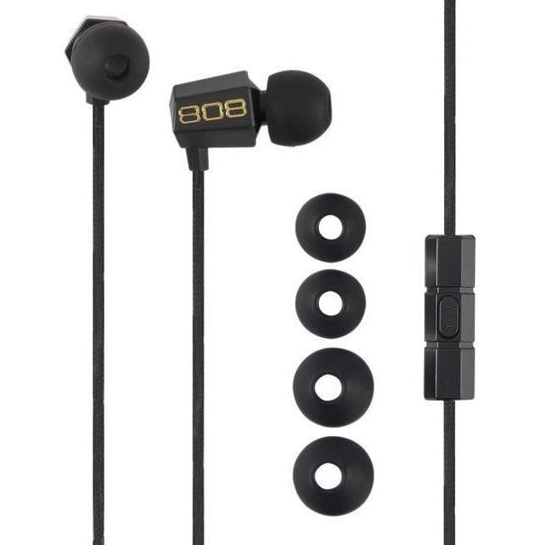 808 Audio BUDZ Noise Isolating Earbuds - GekkoTech
