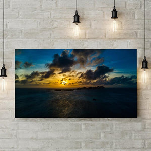 campello vision Photography Sunset Los Roques Yellow Blue