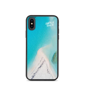 campellovision.com iPhone X/XS Bluelagoon Biodegradable Campello Vision phone case