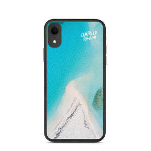 campellovision.com iPhone XR Bluelagoon Biodegradable Campello Vision phone case
