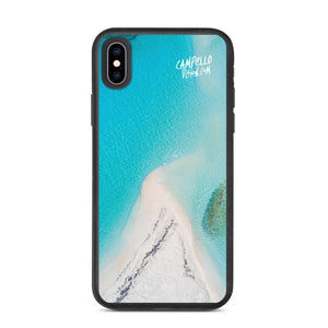 campellovision.com iPhone XS Max Bluelagoon Biodegradable Campello Vision phone case
