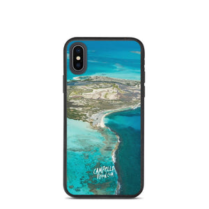 campellovision.com iPhone X/XS Channel Orchila Biodegradable Campello Vision phone case