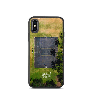 campellovision.com iPhone X/XS Hawaiian Court - Camepello Vision Biodegradable phone case