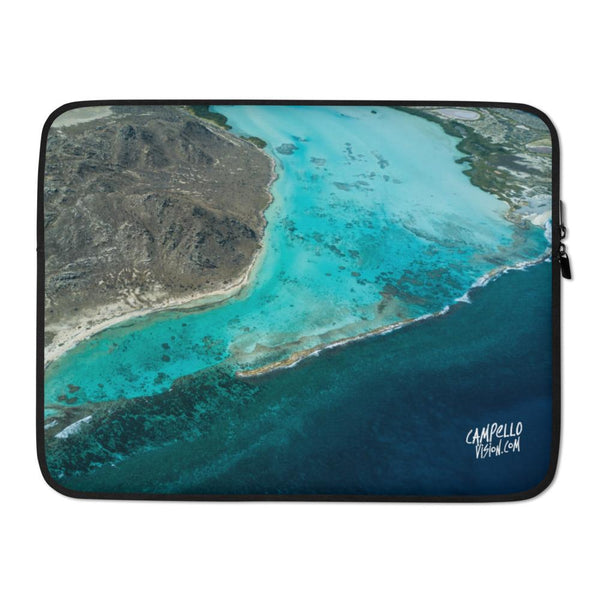 campellovision.com 15 in La Orchila Channel Campello Vision Laptop Sleeve