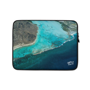campellovision.com 13 in La Orchila Channel Campello Vision Laptop Sleeve