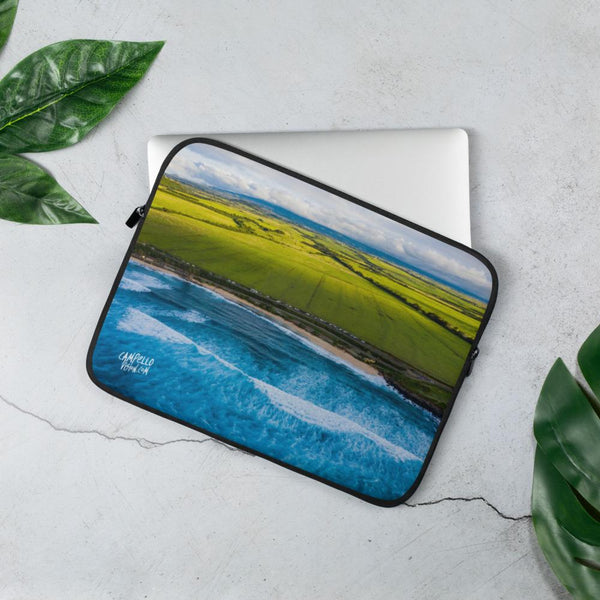 campellovision.com Laptop Sleeve 13 in Hookipa view - Camepello Vision Laptop Sleeve