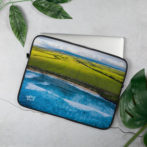 campellovision.com Laptop Sleeve 15 in Hookipa view - Camepello Vision Laptop Sleeve