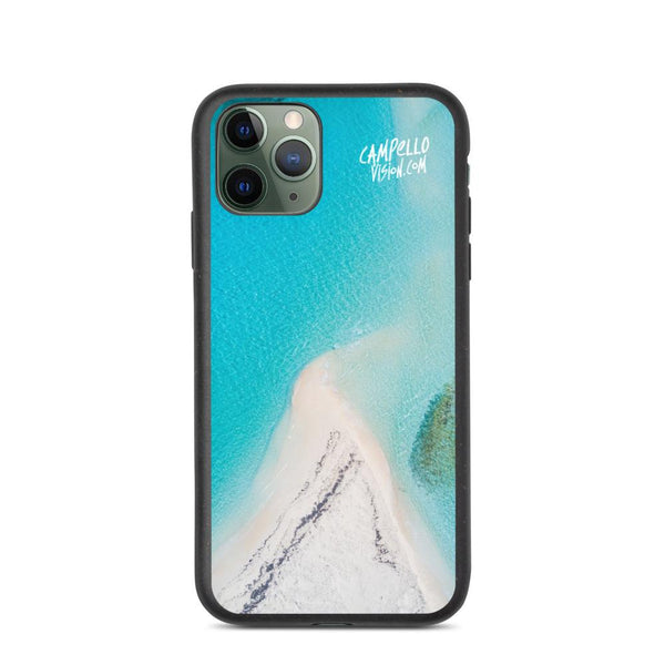 campellovision.com Phone Case iPhone 11 Pro Bluelagoon Biodegradable Campello Vision phone case