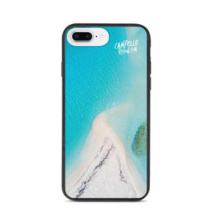 campellovision.com Phone Case iPhone 7 Plus/8 Plus Bluelagoon Biodegradable Campello Vision phone case