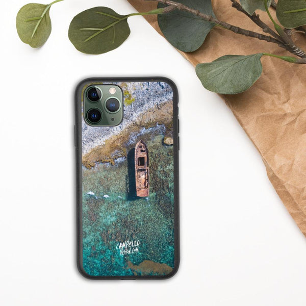 campellovision.com iPhone 11 Pro Shipwreck Biodegradable Campello Vision phone case