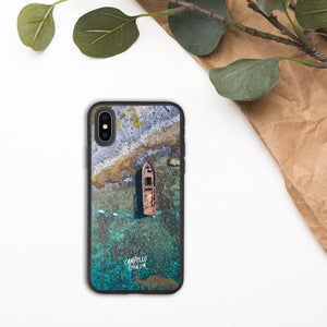 campellovision.com iPhone X/XS Shipwreck Biodegradable Campello Vision phone case