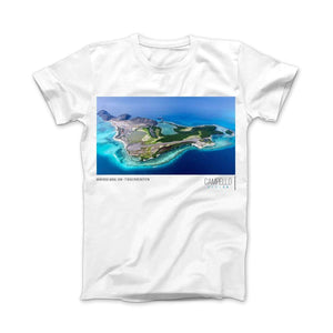 campellovision.com t-shirt Gran Roque Aereal View T-shirt