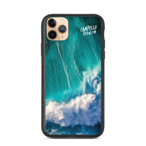 campellovision.com iPhone 11 Pro Max Wave Explosion - Campello Vision Biodegradable phone case