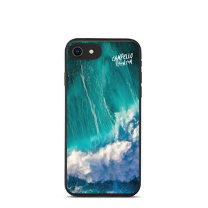campellovision.com iPhone 7/8/SE Wave Explosion - Campello Vision Biodegradable phone case