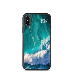 campellovision.com iPhone X/XS Wave Explosion - Campello Vision Biodegradable phone case