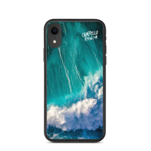 campellovision.com iPhone XR Wave Explosion - Campello Vision Biodegradable phone case