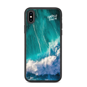 campellovision.com iPhone XS Max Wave Explosion - Campello Vision Biodegradable phone case