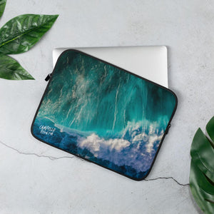 campellovision.com 13 in Wave Explosion - Campello Vision Laptop Sleeve