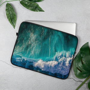campellovision.com 15 in Wave Explosion - Campello Vision Laptop Sleeve
