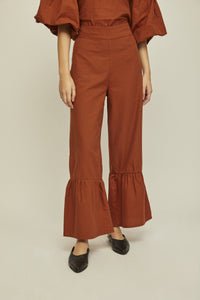 shop osca pants organe check by rita row at thegreenlabels