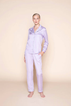 pants lavender love by Le Nap on thegreenlabels