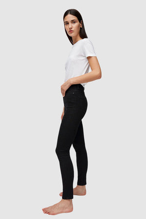 ingaa x stretch high waist skinny jeans detox denim by ARMEDANGELS