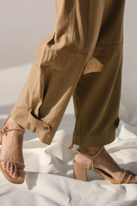 shop grace beige by Alohas on thegreenlabels