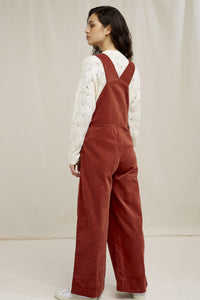 shop ali velvet dungarees cinnamon by people tree at thegreenlabels