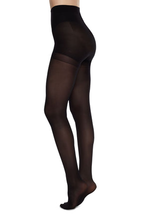 anna control top stockings tights black by Swedish Stockings on thegreenlabels.com