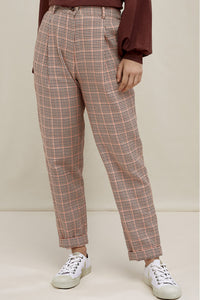shop annis houndstooth trousers by People Tree at thegreenlabels