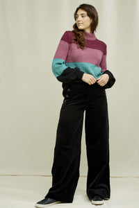 shop caren velvet trousers by people tree at thegreenlabels