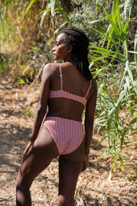 shop selma & greta bikini multicolor gingham by Clo Stories on thegreenlabels